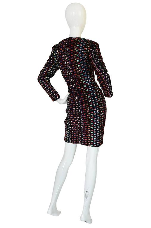 Runway F/W 1988-89 Patrick Kelly Multi Color Bow Dress 2