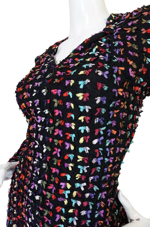 Runway F/W 1988-89 Patrick Kelly Multi Color Bow Dress 7