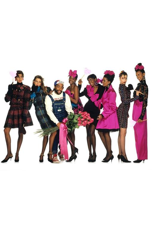 Runway F/W 1988-89 Patrick Kelly Multi Color Bow Dress For Sale 4