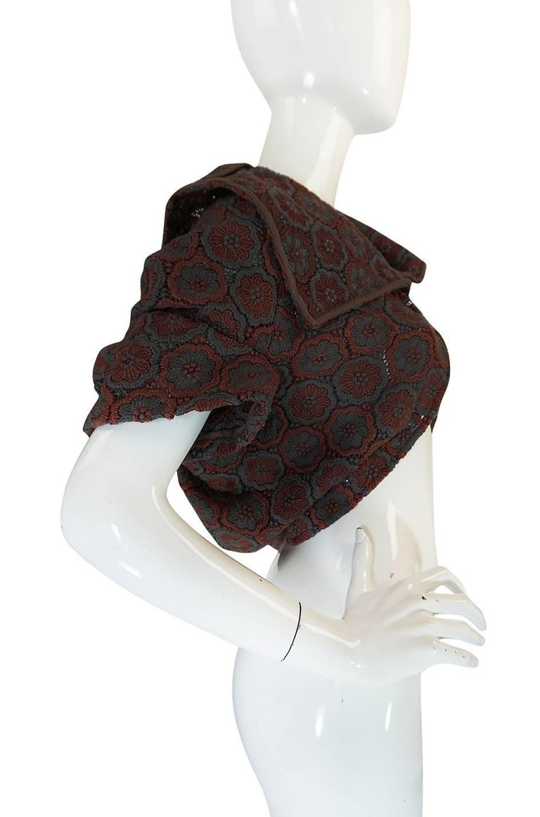 Women's Comme des Garcons Knit Shawl Poncho Jacket, 1990s  For Sale