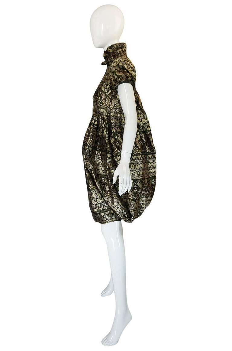 """Black Fall 2008 Alexander McQueen """"The Girl Who Lived in the Trees"""" Dress For Sale"""