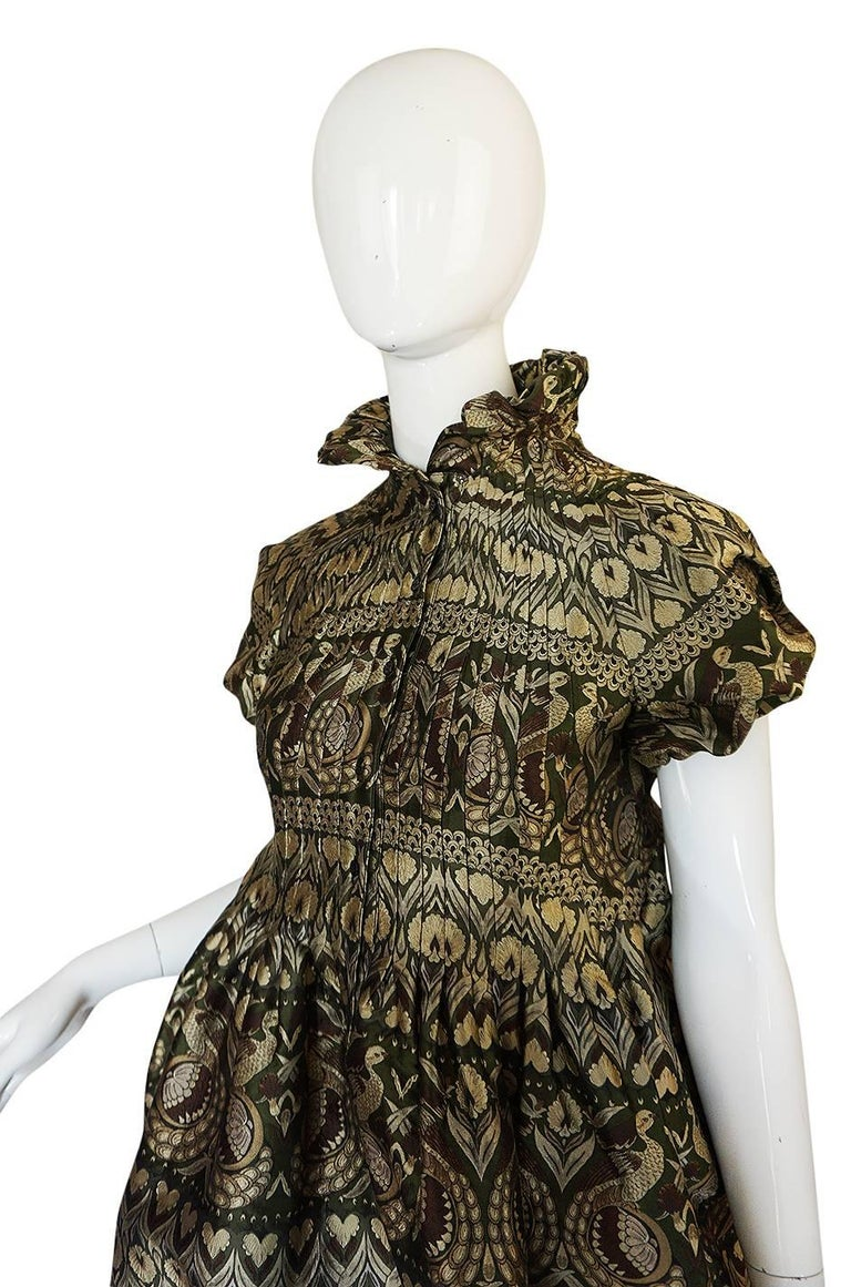 """Women's Fall 2008 Alexander McQueen """"The Girl Who Lived in the Trees"""" Dress For Sale"""