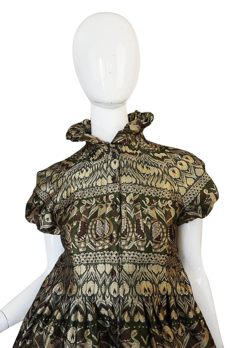 """Fall 2008 Alexander McQueen """"The Girl Who Lived in the Trees"""" Dress For Sale 2"""
