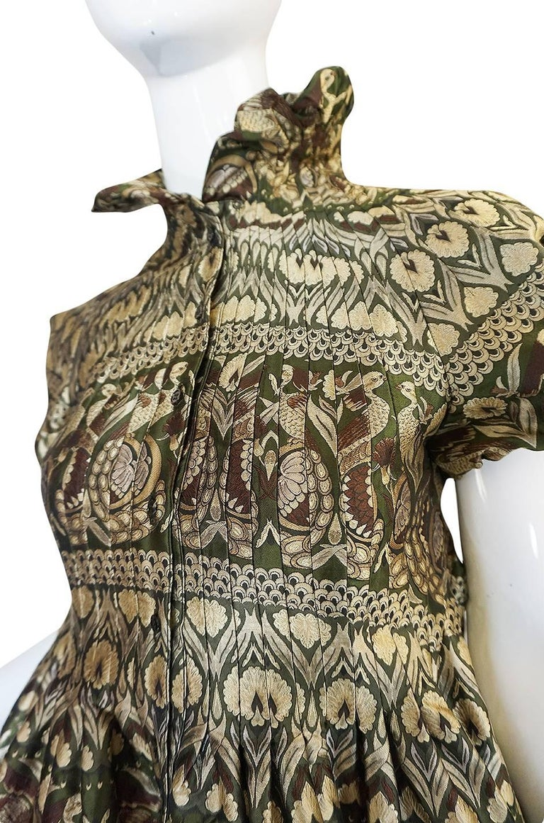 """Fall 2008 Alexander McQueen """"The Girl Who Lived in the Trees"""" Dress For Sale 3"""