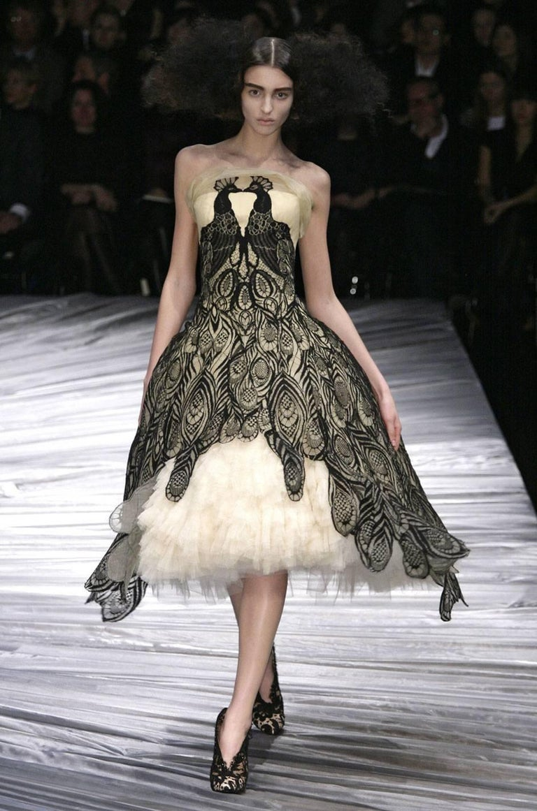 """Fall 2008 Alexander McQueen """"The Girl Who Lived in the Trees"""" Dress For Sale 5"""