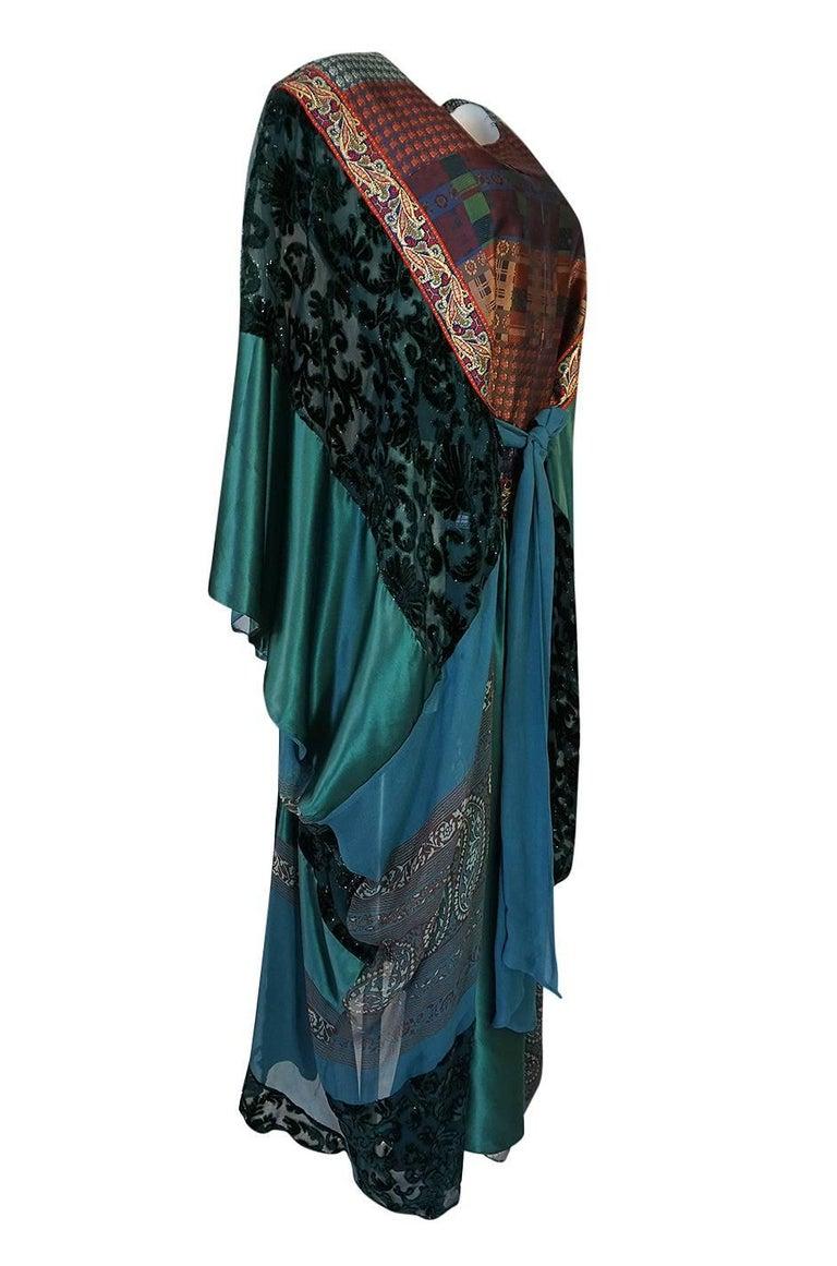Women's Thea Porter Museum Exhibited Abaya Caftan Dress, circa 1975  For Sale