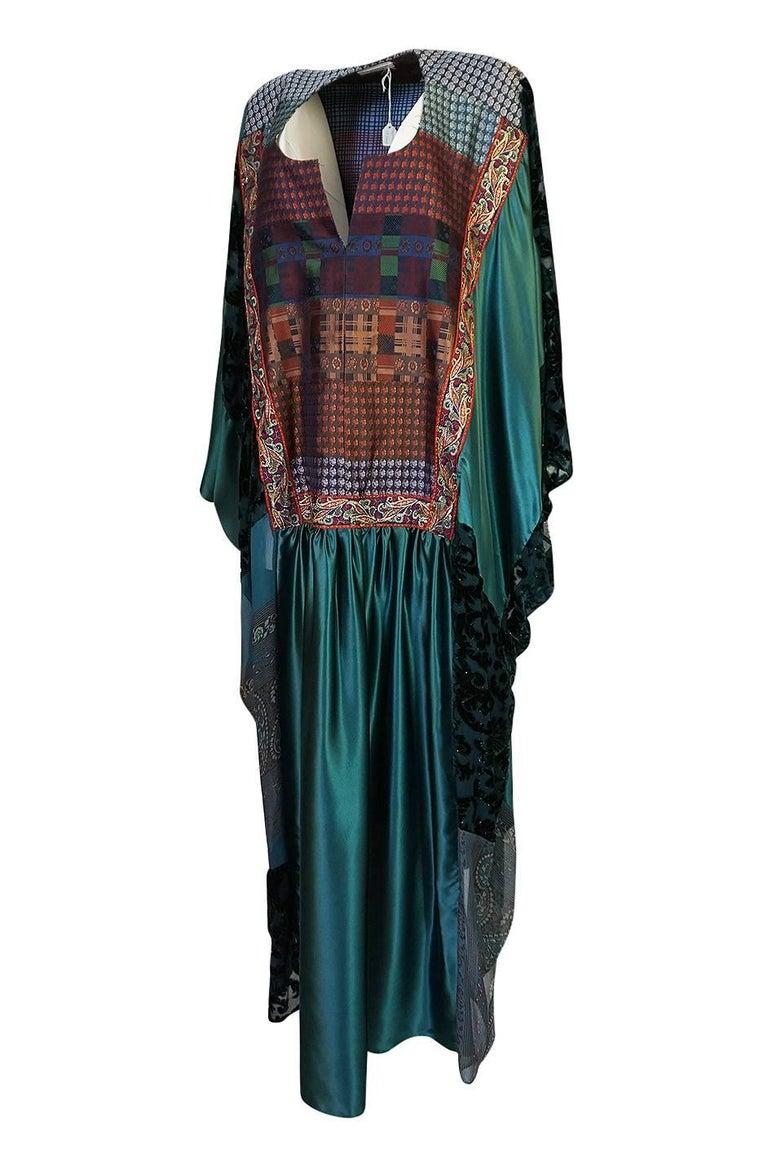 Thea Porter Museum Exhibited Abaya Caftan Dress, circa 1975  For Sale 1
