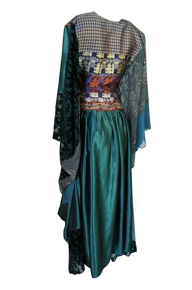 Thea Porter Museum Exhibited Abaya Caftan Dress, circa 1975  For Sale 3