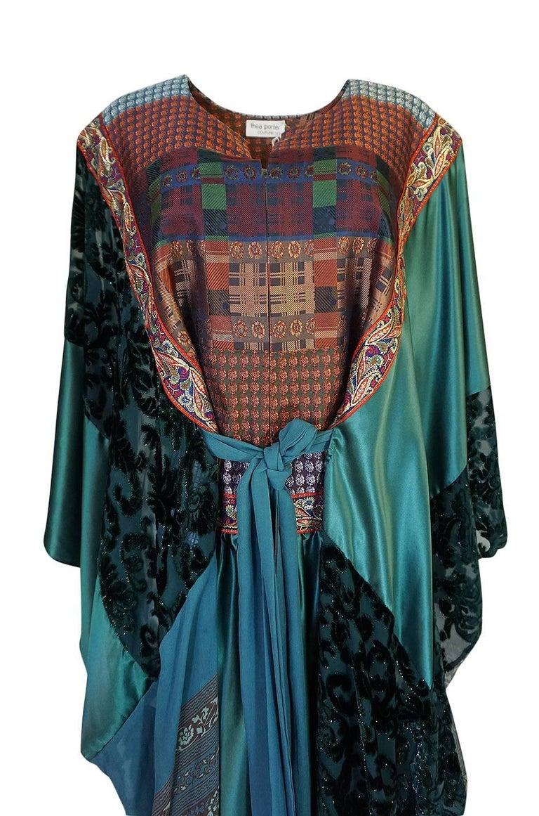 Thea Porter Museum Exhibited Abaya Caftan Dress, circa 1975  For Sale 4
