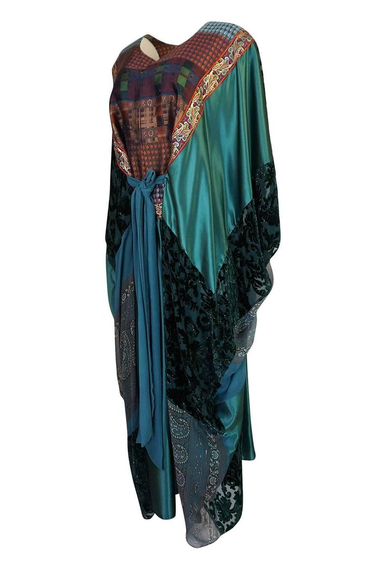 Thea Porter Museum Exhibited Abaya Caftan Dress, circa 1975  For Sale 2