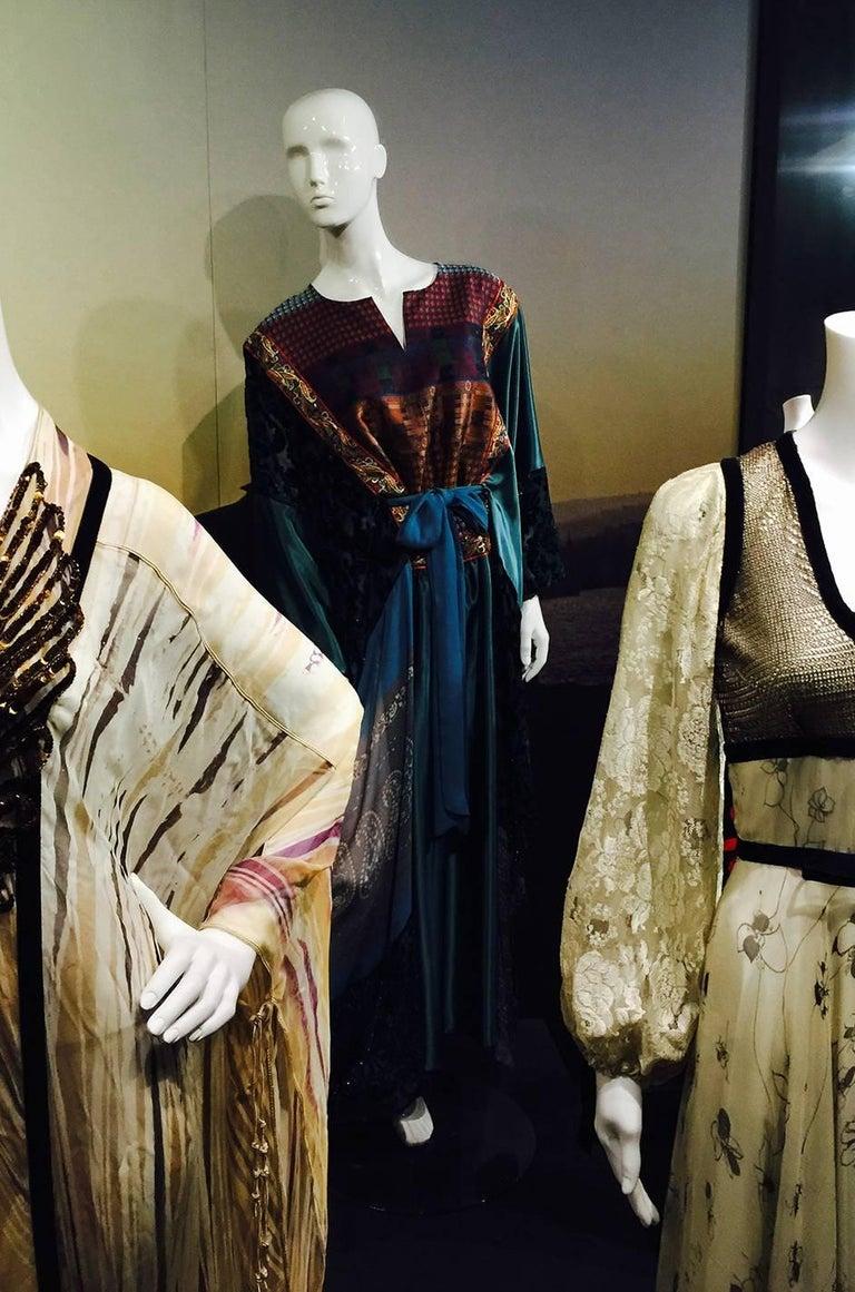 Thea Porter Museum Exhibited Abaya Caftan Dress, circa 1975  For Sale 7