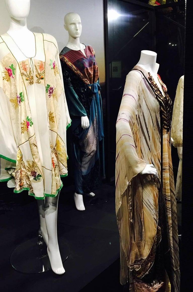 Thea Porter Museum Exhibited Abaya Caftan Dress, circa 1975  For Sale 8