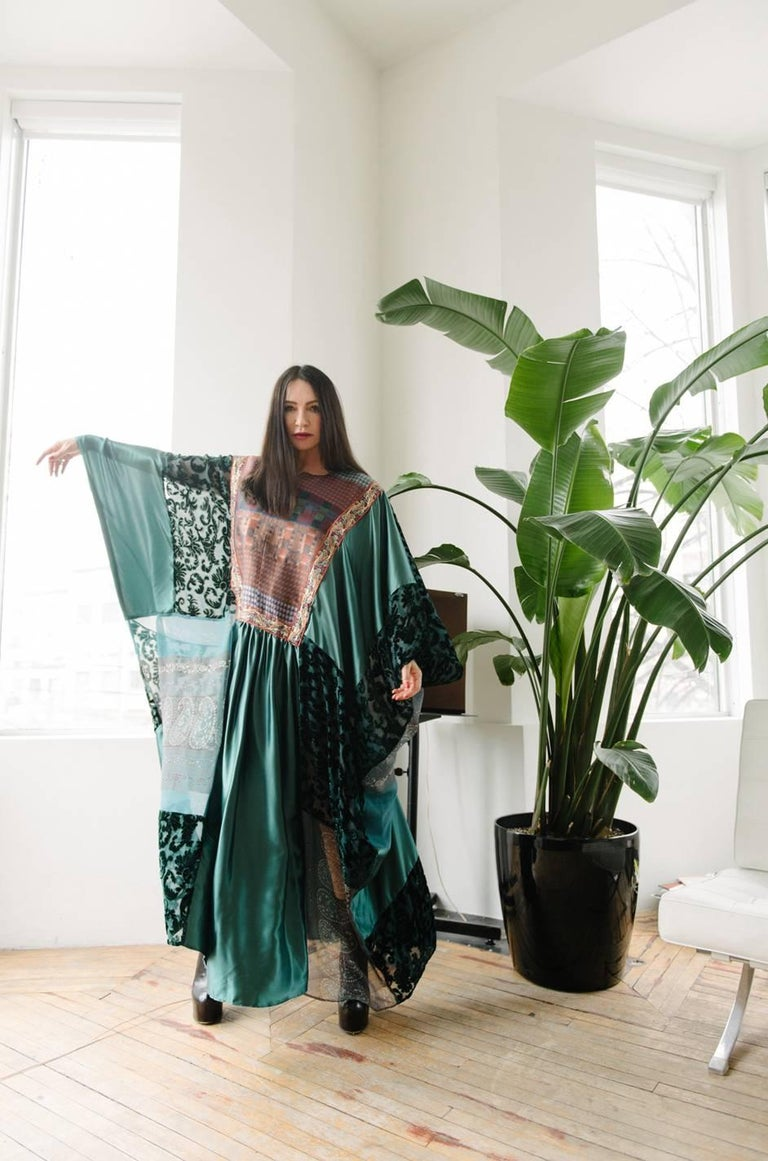 Thea Porter Museum Exhibited Abaya Caftan Dress, circa 1975  For Sale 9