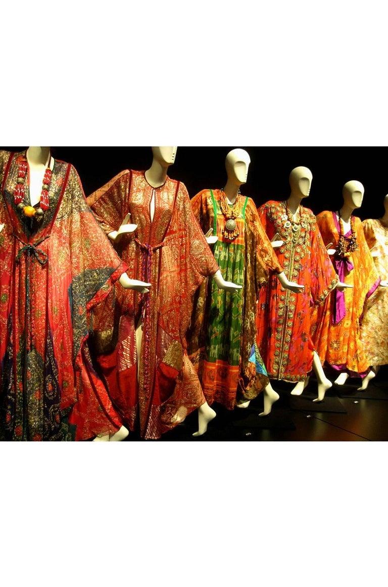 Thea Porter Museum Exhibited Abaya Caftan Dress, circa 1975  For Sale 12
