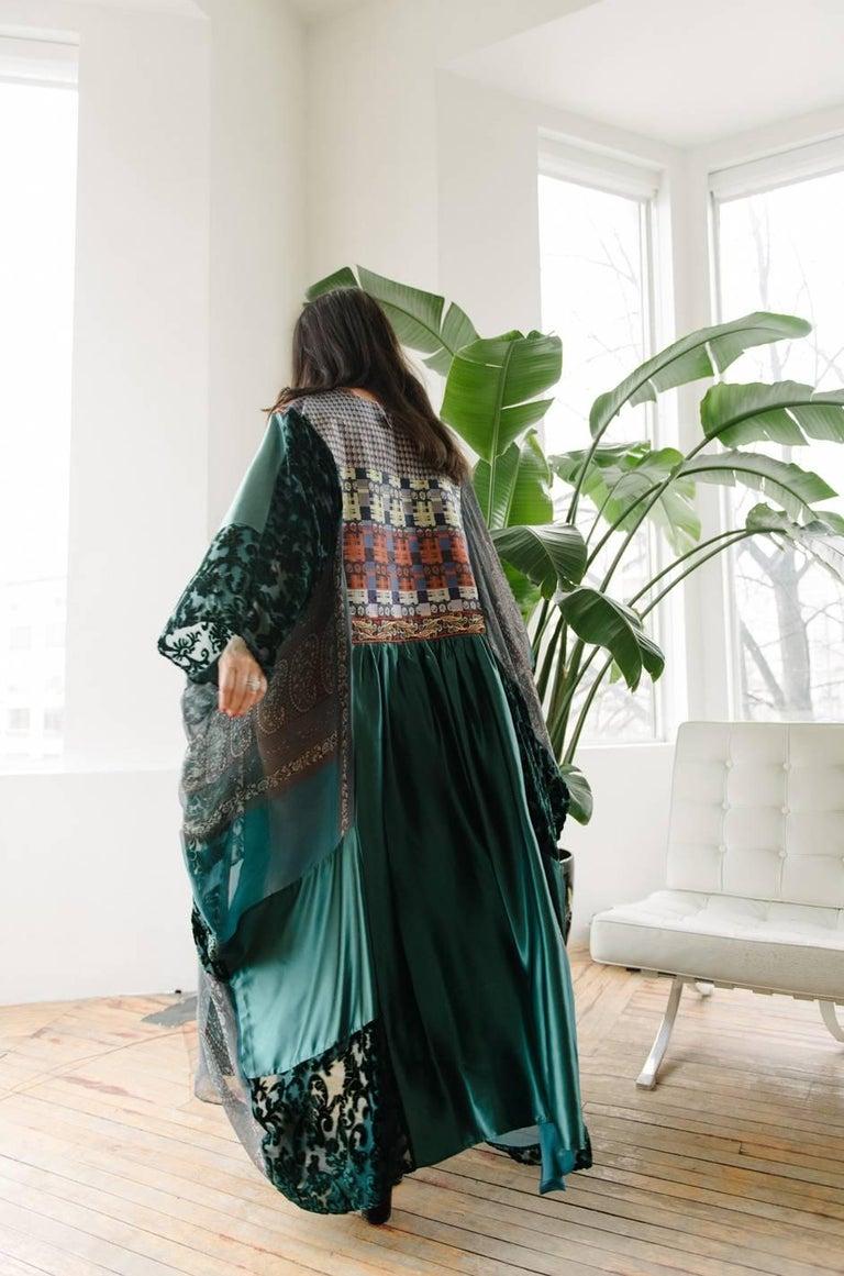 Thea Porter Museum Exhibited Abaya Caftan Dress, circa 1975  For Sale 10