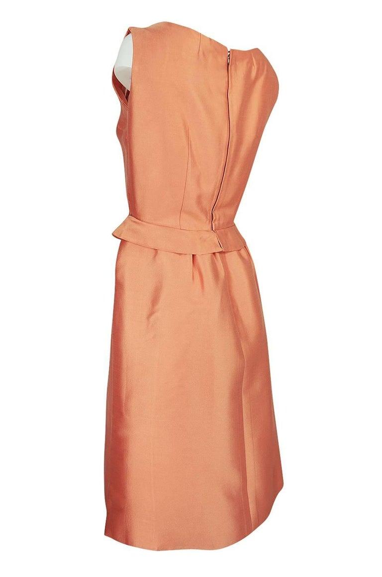 Women's Christian Dior Demi-Couture Peach Silk