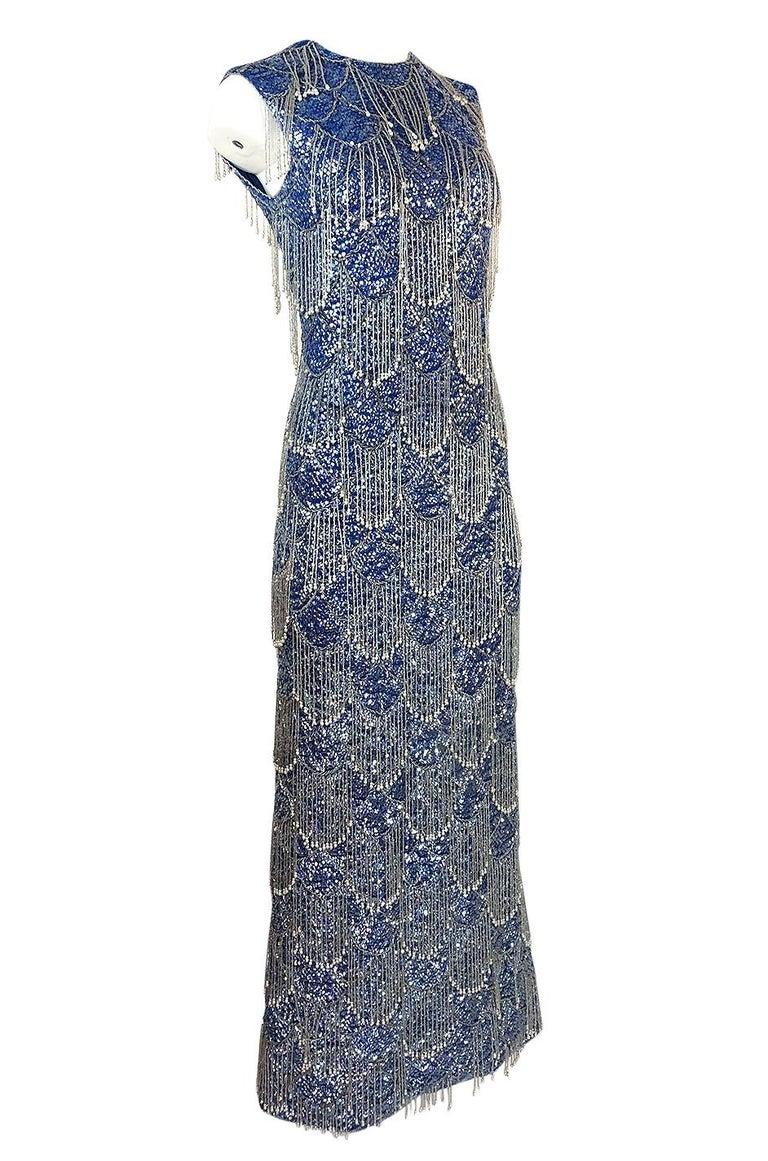 1950s Sorelle Fontana Alta Moda Couture Sequin Bead And
