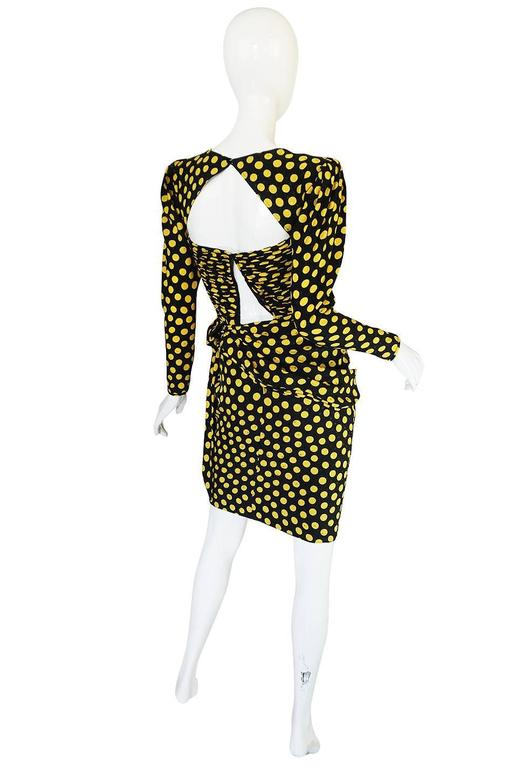 This dress came with tags from the StarWares auction and was part of an auction several years prior to her passing. Even without the Hollywood connection it is a drop dead gorgeous Ungaro dress and with the recent revival of all things eighties