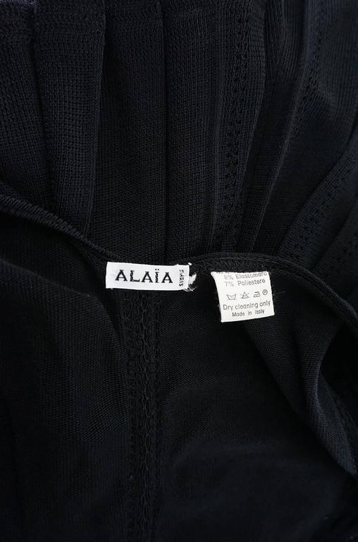 Spring 1990 Azzedine Alaia Scooped Front