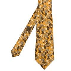 Rare Hermes Vintage Silk Tie 'Grape Vines'