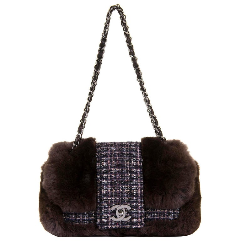 199aaa3ea9e3 A Pristine Chanel Limited Edition 28cm   Sac Classique  by Karl Lagerfeld  For