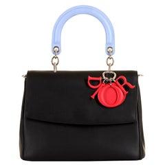 Very Rare Dior Limited Edition Tri-colour 'Be Dior' Bag