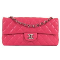 PRISTINE Chanel Rose Pink 25cm Medium Flap  Sac 'Timeless'