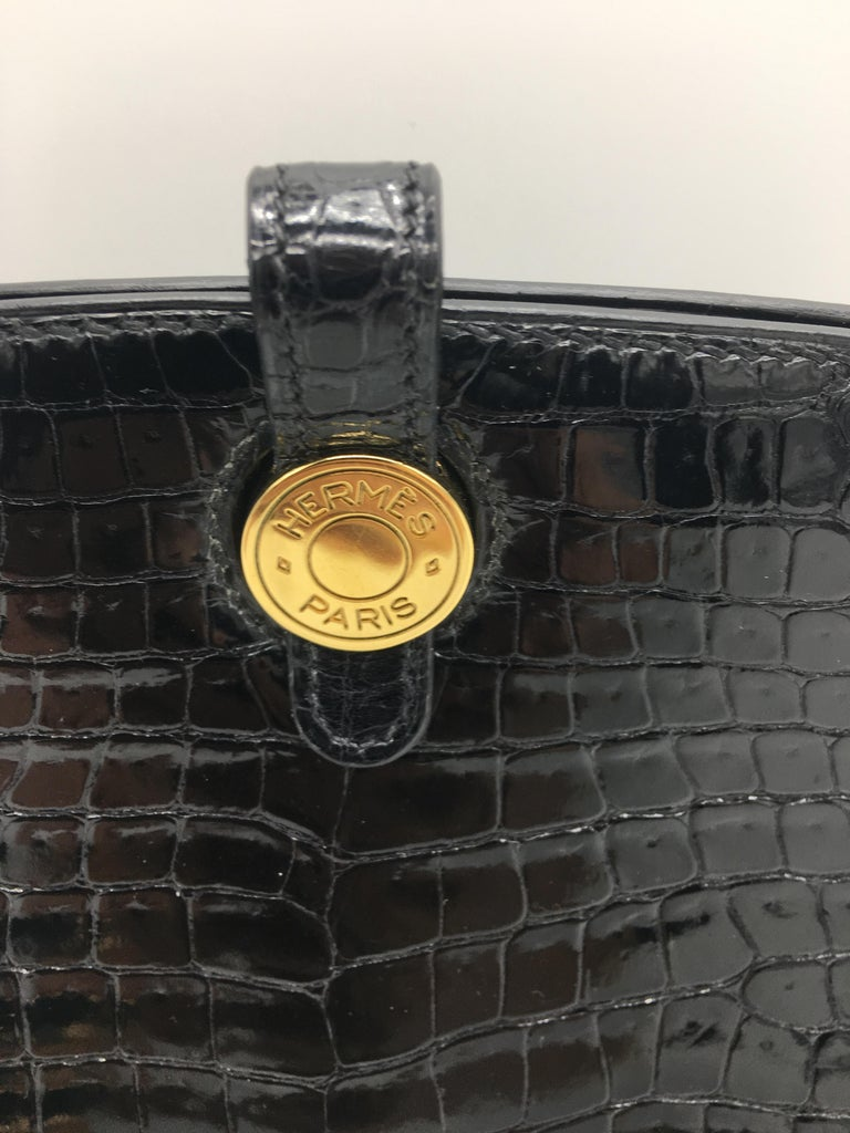 Hermes vintage Dalvy 30cm In Excellent Condition For Sale In London, GB
