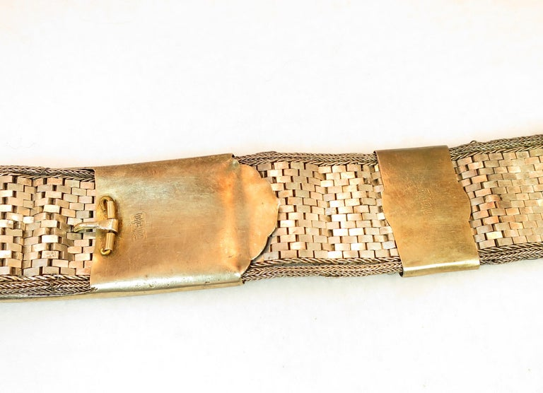Early 19th Century Asian Silver Belt, China 1830s For Sale 6