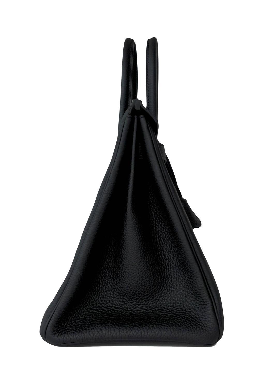 pink hermes bag - Celeb Fave Hermes Black Togo 35cm Birkin Gold Hardware GHW Power ...