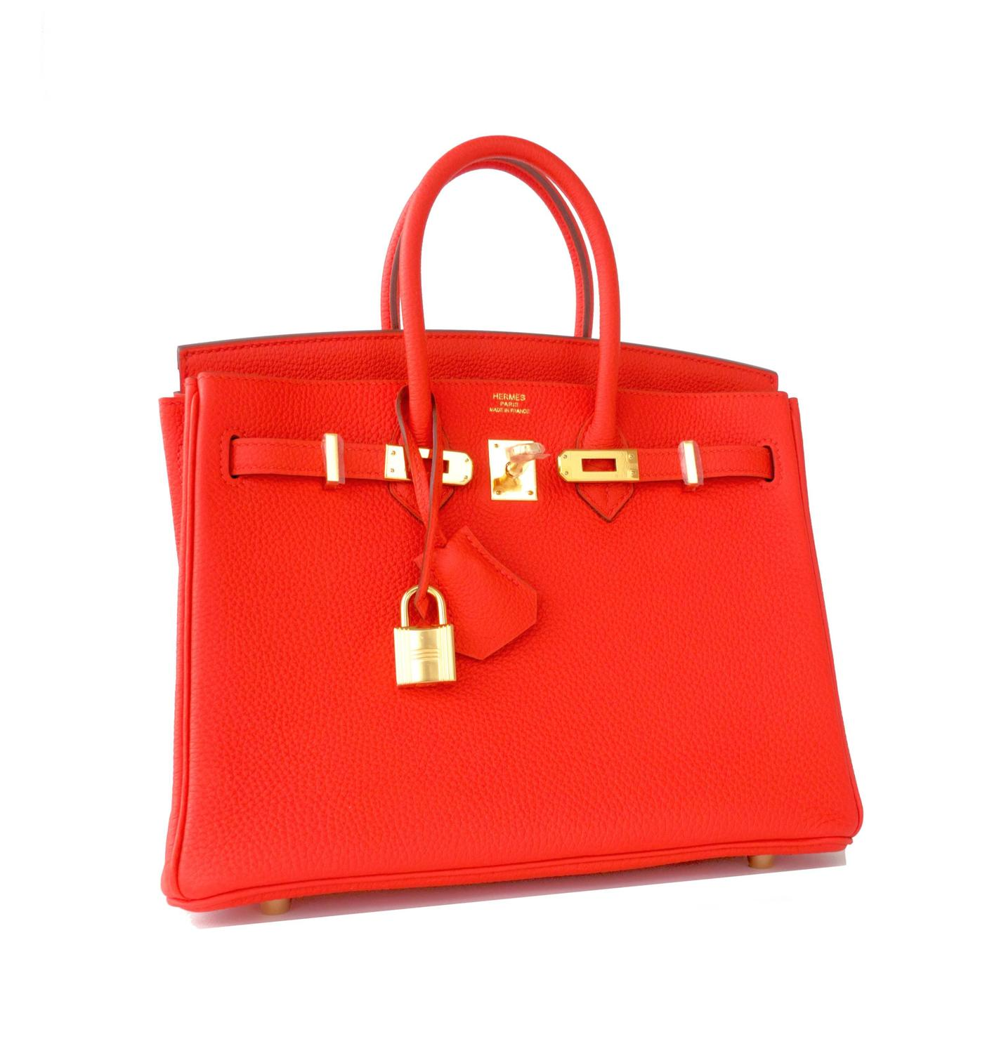 hermes So-Kelly capucine orange