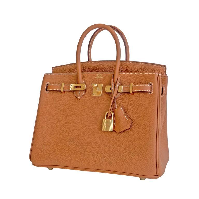 Hermes Gold Baby Birkin 25cm Camel Togo Gold GHW Jewel Brand New in Box.  Store f59bbede49