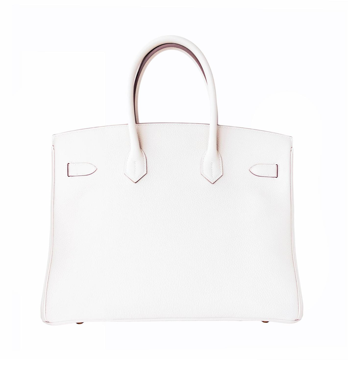 birkin style leather bag - hermes birkin bag 35cm craie togo palladium hardware, hermes ...