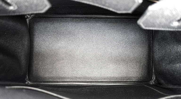 Hermes Black 35cm Birkin Gold Hardware Epsom Bag Power Birkin 9