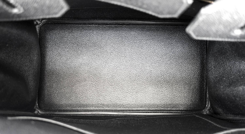 replica birkin bag - Hermes Black 35cm Birkin Gold Hardware Epsom Bag Power Birkin For ...