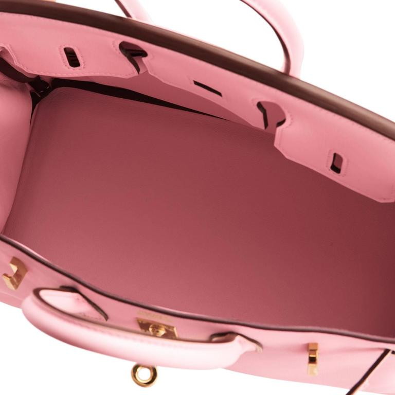 7255b356a771 ... where can i buy hermes rose sakura baby birkin 25cm swift gold hardware  jewel for sale