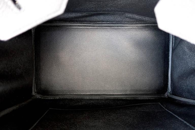Celeb Fave Hermes Black Togo 35cm Birkin Gold Hardware GHW Power Birkin  For Sale 5