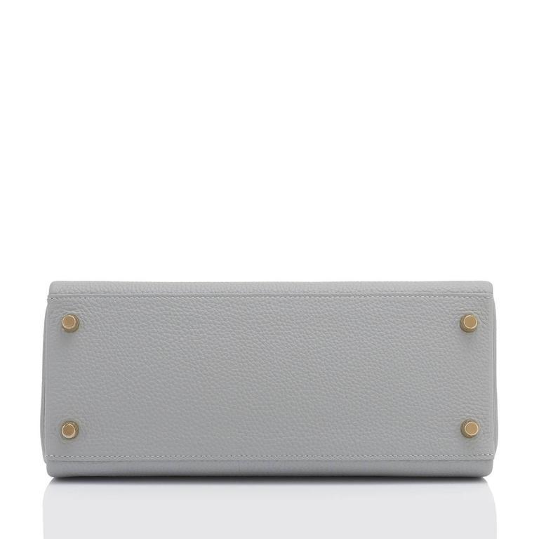 03feee98c302 denmark hermes gris mouette 28cm kelly bag togo grey gold hardware for sale  2 93fb4 1b874