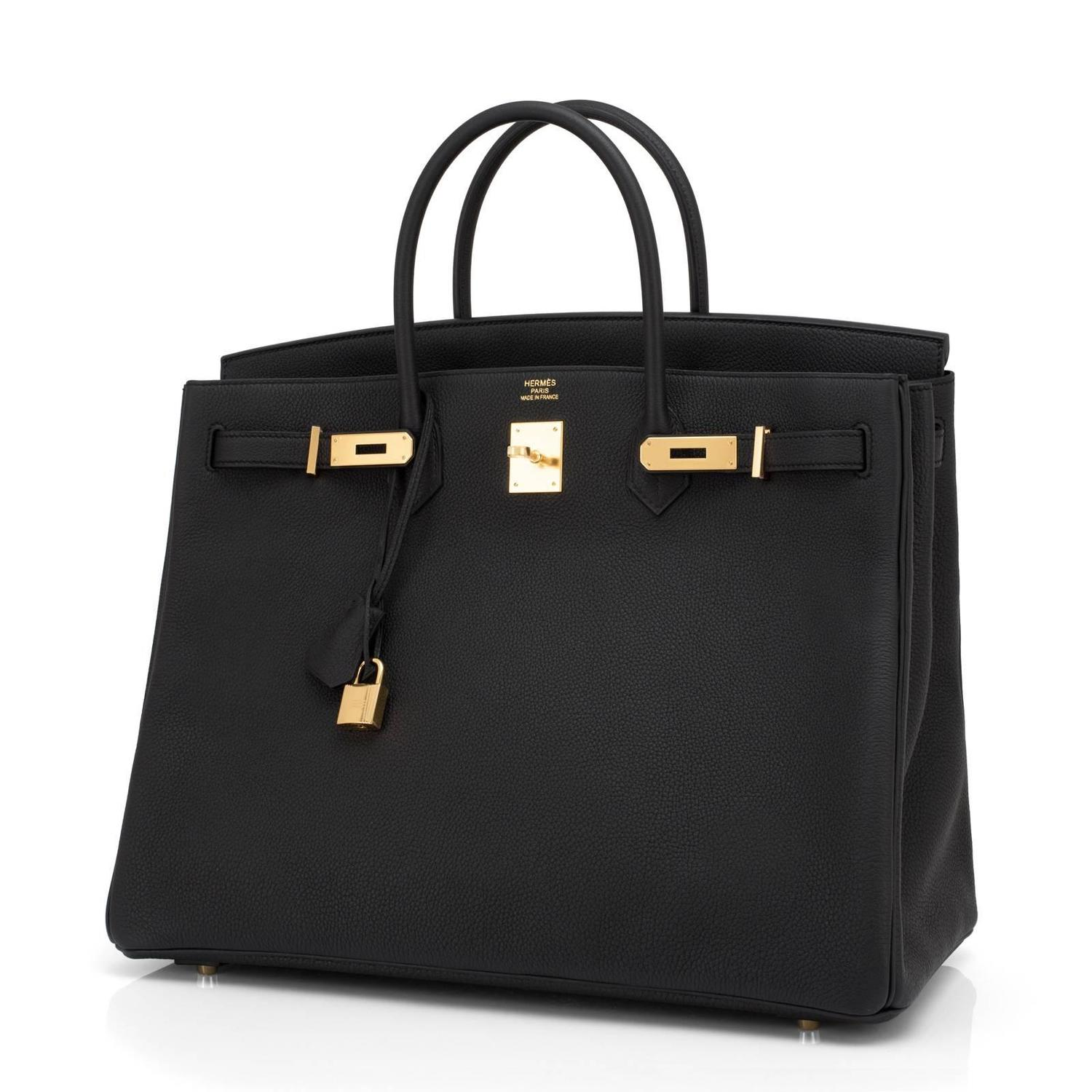 b2aa670d39 ... sweden hermes black togo 40cm birkin gold hardware power birkin at  1stdibs 5bb10 d9f39