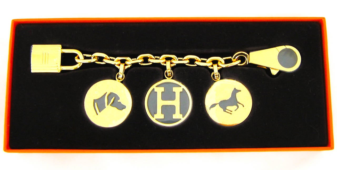 hermes handbag charms breloque