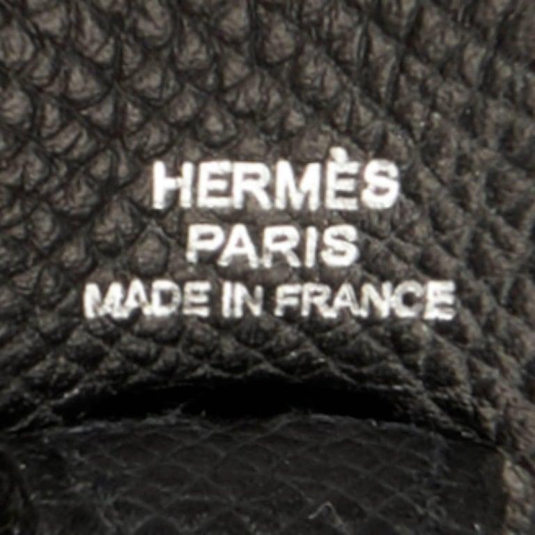 Hermes Black Evelyne TPM Shoulder Cross Body Messenger Bag 7
