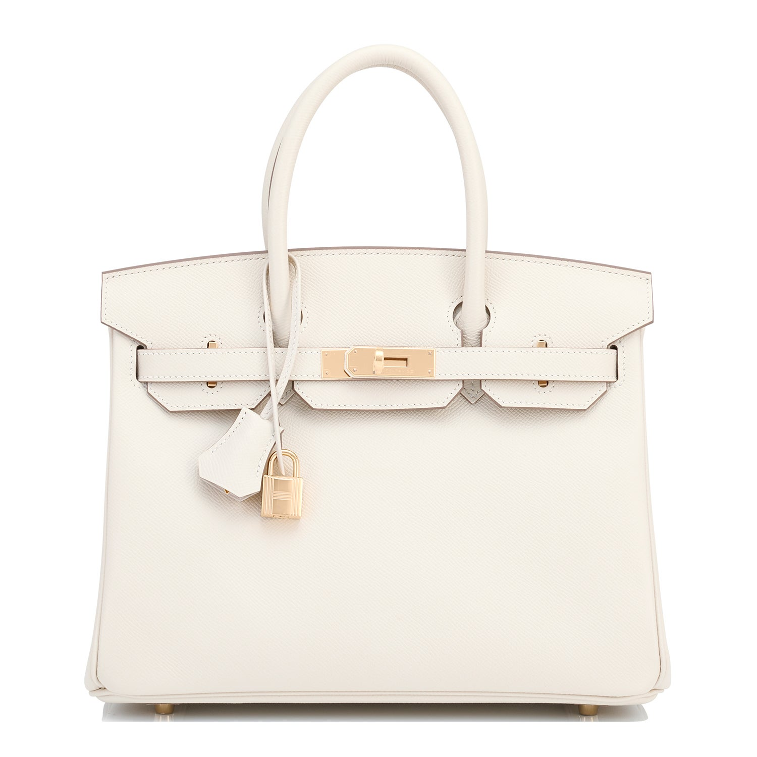 c0573245ff5c Hermes Craie 30cm Epsom Off White Gold Hardware A Stamp Birkin Bag at  1stdibs