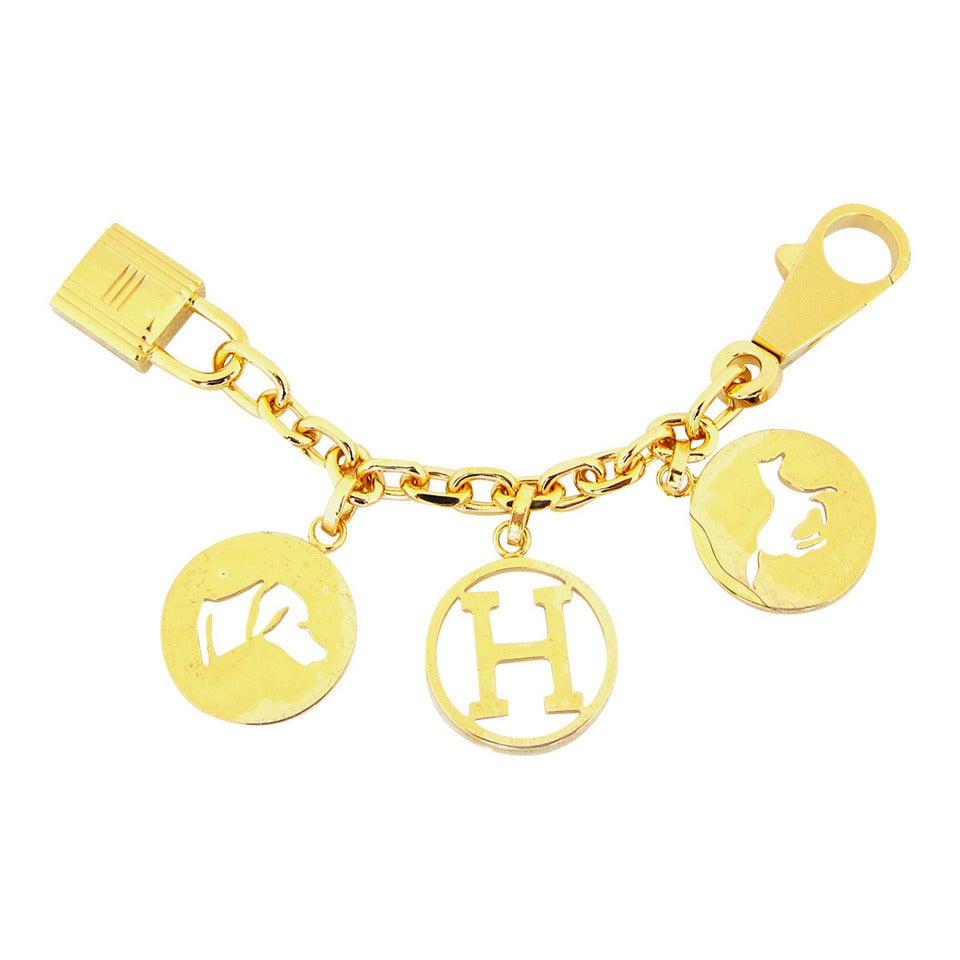 hermes handbag charms breloque