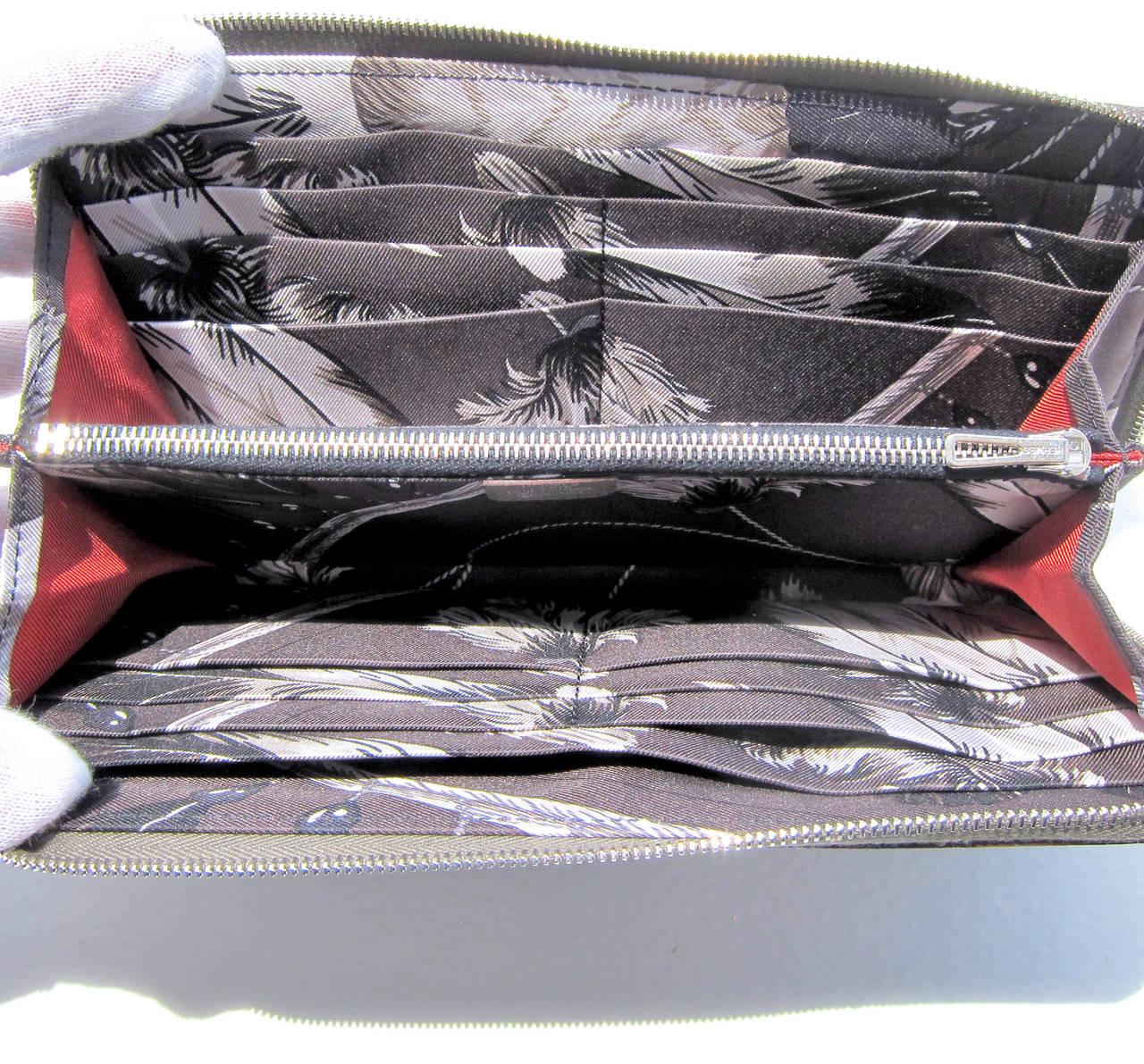 Hermes Etain Brazil Silk-In Epsom Plomb Azap Long Wallet Stunning ...