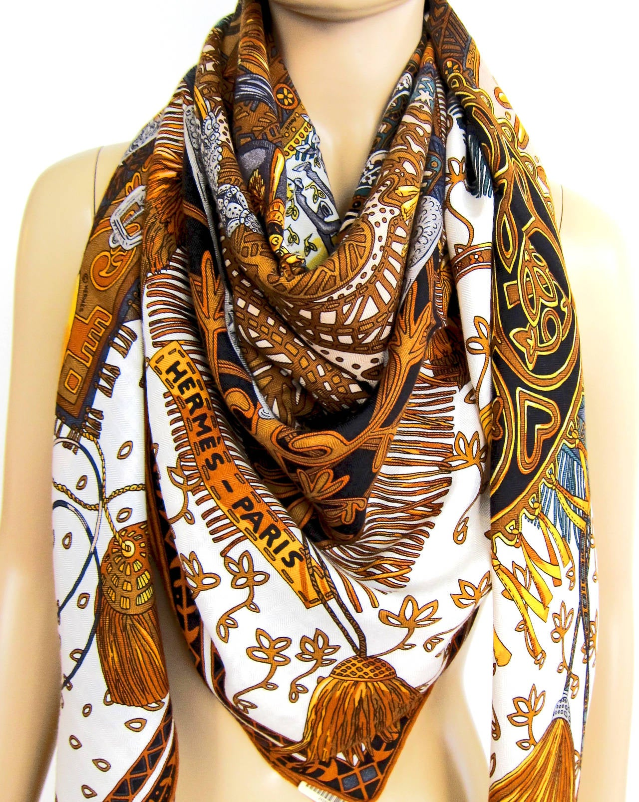 Hermes Cashmere Shawl Sale Makes Looking Stylish Easy On ...
