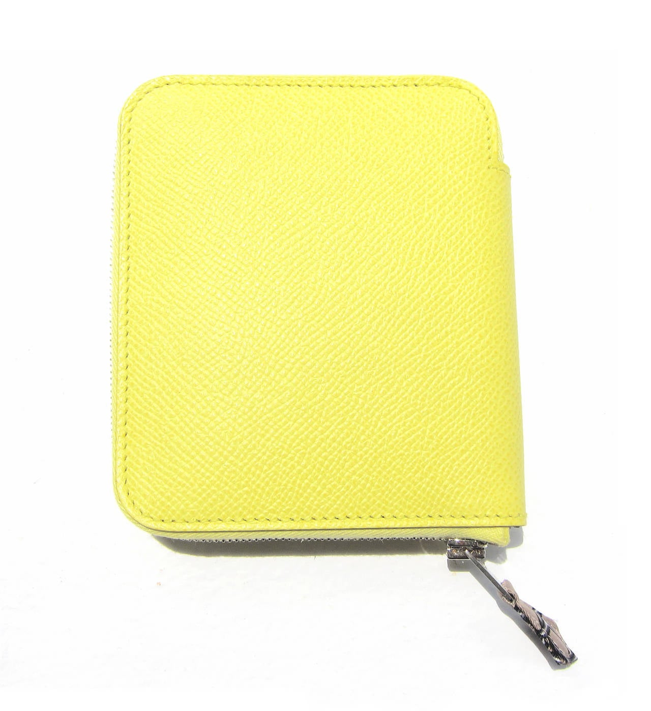 hermes kelly wallet yellow - photo #12