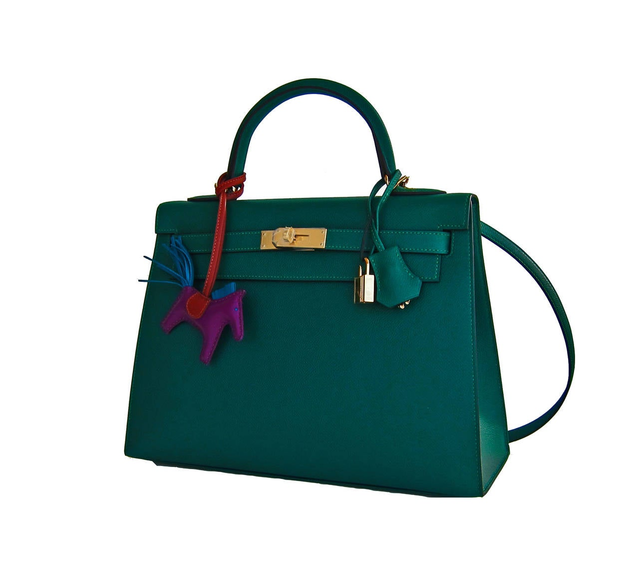 red hermes birkin bag - Celeb Fave Hermes 32cm Malachite Gold Sellier GHW Emerald Epsom ...