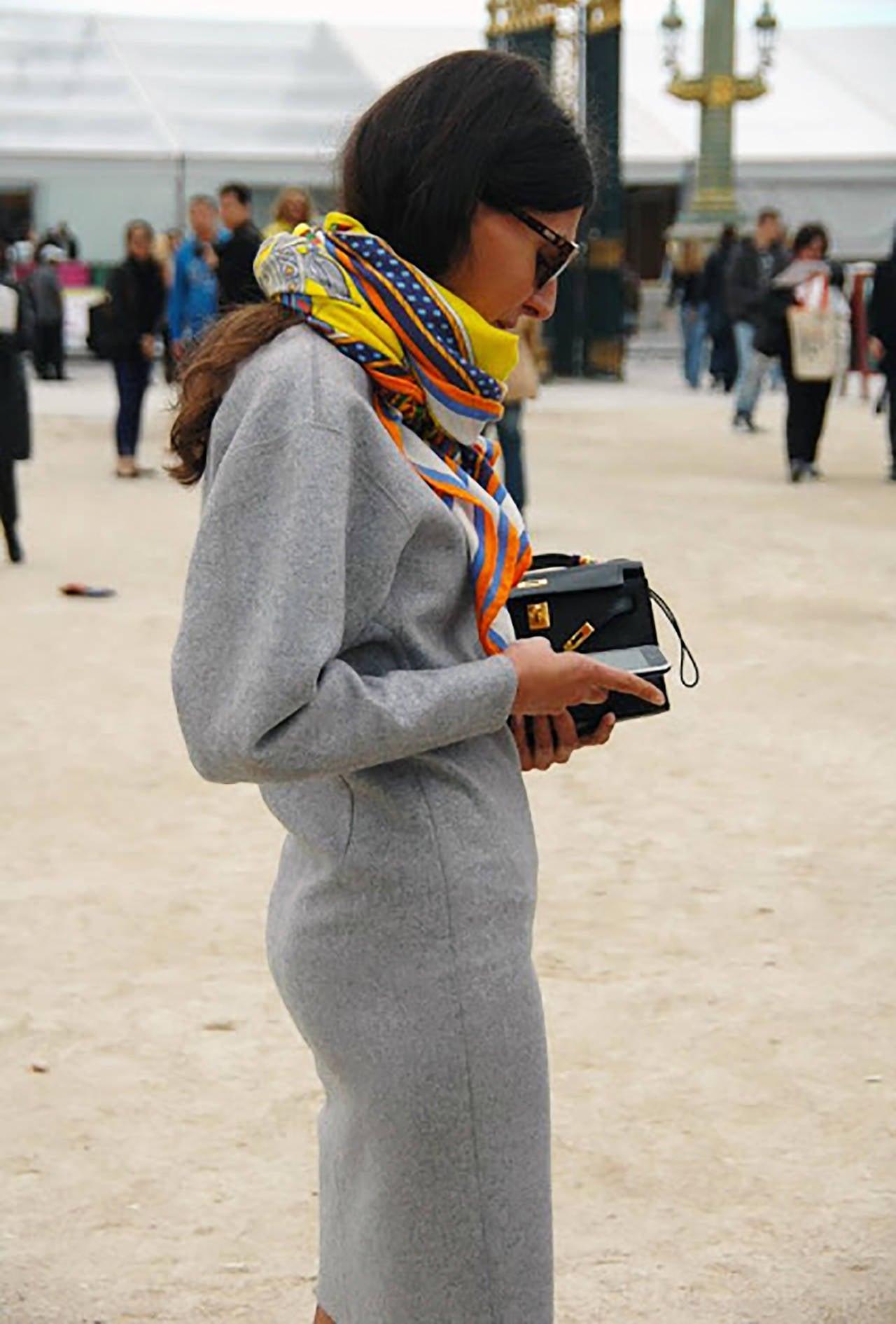 Fashionista Fave Hermes Black Gold Swift Kelly Pochette