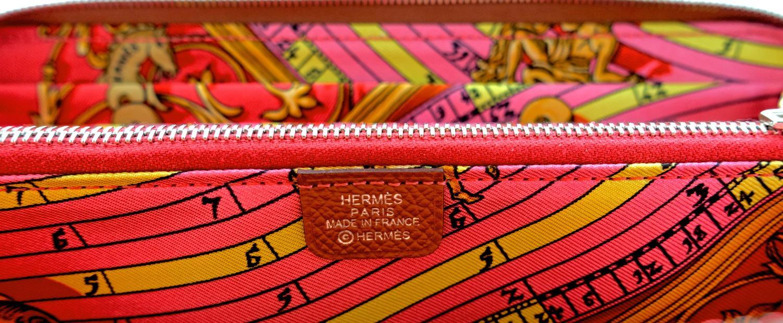 Hermes Cognac Gold Brown Rose Jaipur Astrologie Nouvelle Silk-In ...
