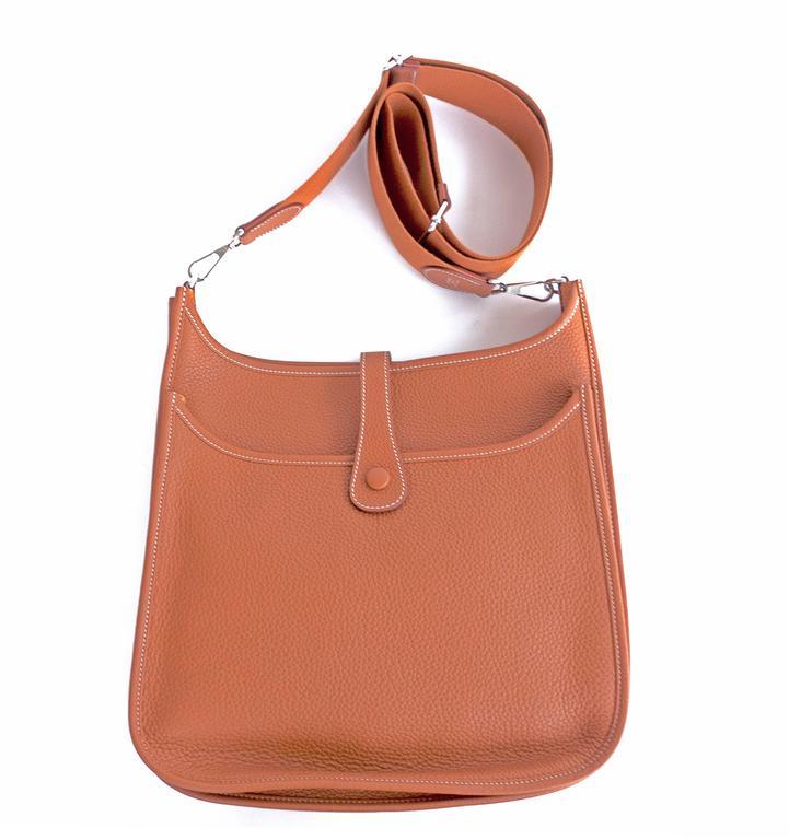 Купить сумку hermes evelyne